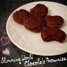Slimming world brownies - YlimeSalad Slimming World Brownies, Slimming World Sweets, Slimming World Puddings, Slimming World Diet, Slimming Eats, Chocolate Alternatives, Chocolate Recipes, Chocolate Brownies, Slimmimg World