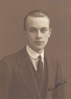 Alan Bush, aged about 18