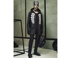 Exclusive images from the Alexander Wang x H&M menswear shoot