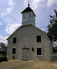 The Bethlehem Lutheran Church is the oldest active Lutheran church in Texas - RoundTop