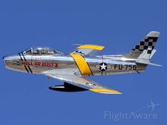 North American F-86E Sabre NX1F Hell er Bust at the Air Force Heritage Conference on March 4 2012.