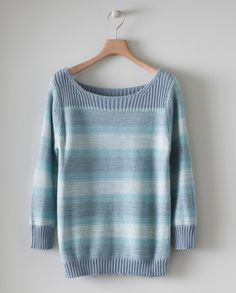 Image of Striped Cotton Jumper