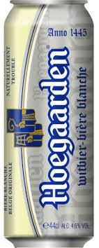 Hoegaarden beer (new design MAY2013)