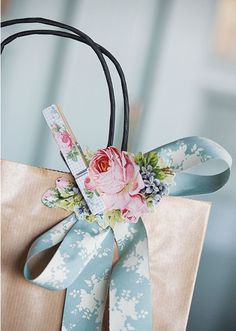 A Beautiful Bow makes all the difference!!!! Bebe'!!! A nice addition to a gift bag!!!