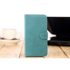 Retro Uniform Stripe Leather Wallet Case For Samsung S4 i9500