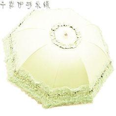 18 color Princess brand new creative folding umbrella sun umbrella lace parasol umbrellas rain women arched UV guarda chuva