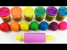 Learn Colors Play Doh Ice Cream Popsicle Peppa Pig Elephant Molds Fun & Creative for Kids Rhymes - YouTube