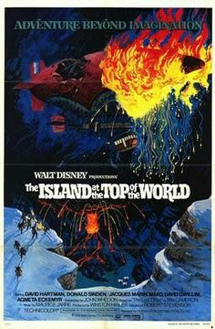 "Poster for ""The Island at the Top of the World"" (1974)."