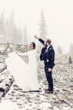 Cody and Nicole | Sapphire Point, Winter Breckenridge Colorado Wedding | Snowy Rocky Mountain Wedding| Wedding Florals