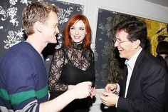 Neil Patrick Harris, Christina Hendricks & Stephen Colbert are all invited to my house for dinner. How awesome would that be!