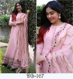 Anarkali Salwar Suit Designer Fancy Heavy Georgette Embroidered Anarkali Suit 31
