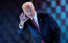 Vice President Joe Biden was played onto the Philadelphia convention stage to the theme from Rocky as he blasted Donald Trump as a danger to working people. Beau Biden, Joe Biden, Winners And Losers, Democratic National Convention, Working People, Donald Trump, Presidents, Youtube, Vice President