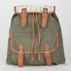 Tilly's Mobile Site: Surf & Skate Clothing, Shoes & Accessories olive backpack