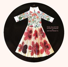 Paper dress (no 5) handmade by Edition Poshette for & company | Firenze Italy andcompanyshop.com