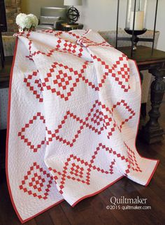 Candy Cane Crush --The original version in Nov-Dec 2015 Quiltmaker