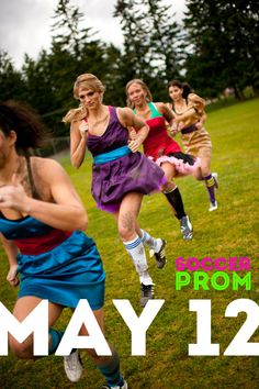 Soccer Prom - Great funny fundraiser idea from Stand Out Prom.