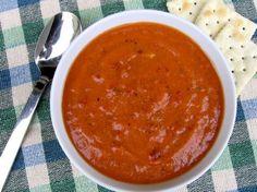 Fácil Crema flaco de sopa de tomate