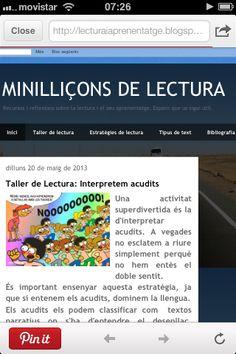 Els tallers de lectura del bloc de la Beatriu Palau, de l'ELIC del Gironès. #ILEC #tallers de lectura #ELIC