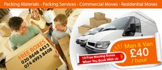 If you have heavy furniture and loads of stuff to move out, hiring Man and Van Twickenham will be the best choice to make.