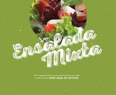BG Holiday 2014, ensalada mixta, salad, Brunet-Garcia Advertising, Cuban recipes