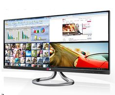 "LG IPS Monitor 29EA93 | 29"" 21:9 Wide Screen IPS LED Monitor - LG Electronics UK"