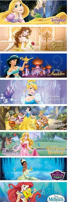 Disney princess 2013 remodel... I dislike them strongly. These princesses are supposed to represent inner beauty and simple outside beauty, not glitz and sparkle and glamour. It angers me that they did this.