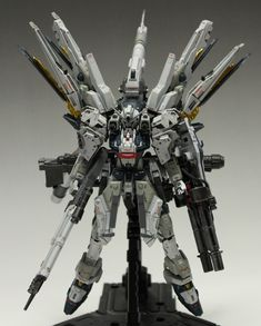 RG 1/144 Strike Freedom Heavy Weapon System Custom: Work by HH_innov Photoreview Big Size Images, Info