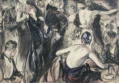 H. P. Raleigh_The Center of Attention_1929