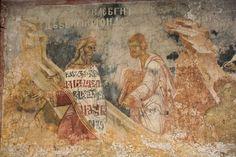 Serbian Culture and Heritage Good Samaritan, Life Of Christ, Byzantine Art, Serbian, Icons, Good Things, Painting, Fresco, Symbols