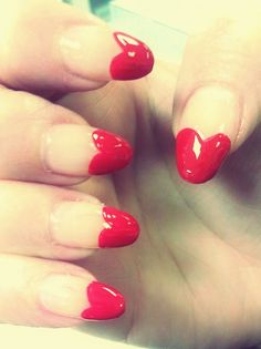 Practice your Valentines Nail Art now! #nails #beauty http://www.lcbt.co.uk/courses/whatcanitake/nail_services/