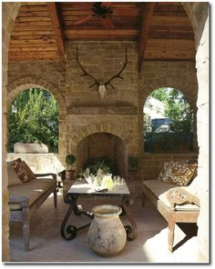Old World Italian Texas Home- Designer Eleanor Cummings Seen In House Beautiful's April 2010 Issue 4