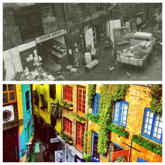 Neal's Yard before it became the colourful oasis it is today. #NYR #nealsyard