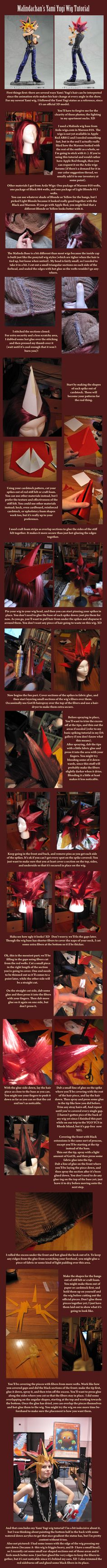 Yami Yugi Wig Tutorial by *Malindachan on deviantART