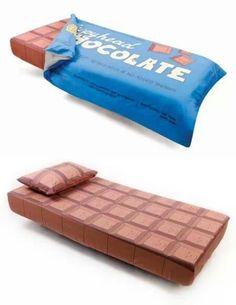 Cama de chocolate