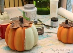 Fall decor coastal and farmhouse style