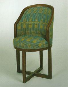 chair. Josef Hoffman