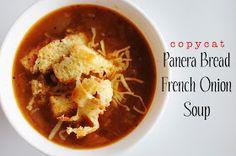 Meredith's Recipes: Copycat Recipe: Panera Bread French Onion Soup