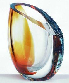 Kosta Boda Amber Bowl