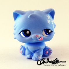 Amy the Winter Cat LPS custom by thatg33kgirl.deviantart.com on @DeviantArt