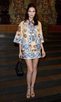 Bianca Balti en Dolce & Gabbana http://www.vogue.fr/mode/red-carpet/diaporama/les-looks-du-mois-de-fevrier-des-podiums-a-la-realite-1/17715/image/965248#!bianca-balti-en-dolce-amp-gabbana