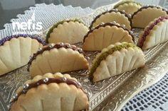 Yelpaze Kurabiye – Nefis Yemek Tarifleri – Fan Cookies to the the Sugar Cookie Recipe Easy, Easy Sugar Cookies, How To Make Cookies, Cupcake Cookies, Cookie Recipes, Dessert Recipes, Cake Truffles, Shortbread Cookies, Sandwich Cookies