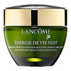 Sephora: Lancôme : ÉNERGIE DE VIE NUIT Overnight Recovery Mask  : face-mask