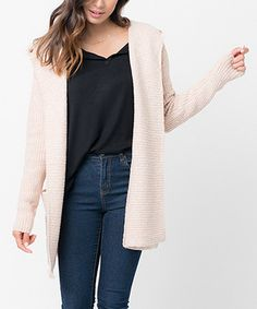 d018d7ddeb This Caralase Blush Lush Hooded Open Cardigan by Caralase is perfect!