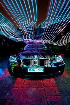 bmw painted by /*syn*/, via Flickr