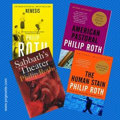 Check out my new blog post: Takeaways from Four of The Best Novels by Philip Roth. Click here: http://wp.me/p4gEKJ-1wH ‪#‎philiproth‬ ‪#‎nemesis‬ ‪#‎thehumanstain‬ ‪#‎sabbath‬'stheater ‪#‎americanpastoral‬ ‪#‎fiction‬ ‪#‎ebooks‬