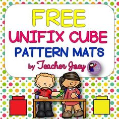 Patterns: PatternsPattern MatsUnifix CubesMatchingFreeThis freebie provides a set of 3 pattern mats showing the AB sequence.There is a corresponding set of black and white cubes under each sequence wherein your students can put unifix cubes to match the pattern above.