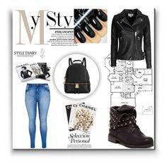 """Bez naslova #58"" by senidakahvedzic1 ❤ liked on Polyvore featuring IRO, Michael Kors, City Chic, Rika, Assouline Publishing, Chanel, women's clothing, women, female and woman"