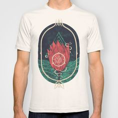 Pulsatilla Patens T-shirt by Hector Mansilla - $22.00