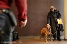 The unconditional love between dogs and their owners l Photo Marijke Mooy l #homeless #dogs #love