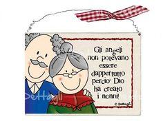 Targhetta nonni mini
